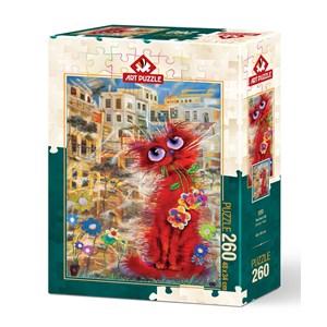 """Art Puzzle (4582) - """"Red Cat"""" - 500 piezas"""