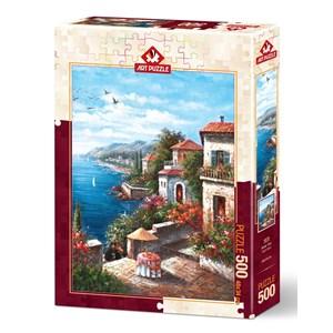 "Art Puzzle (4576) - ""Pleasure Clock"" - 500 piezas"