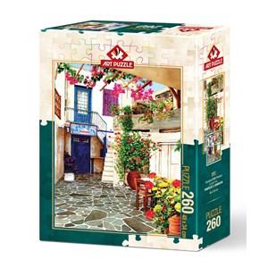 "Art Puzzle (4581) - ""Flower Courtyard"" - 260 piezas"