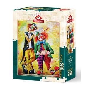 """Art Puzzle (5030) - """"Musician Clowns"""" - 260 piezas"""