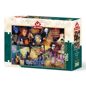 "Art Puzzle (5031) - Bill Bell: ""Music Lover"" - 260 piezas"