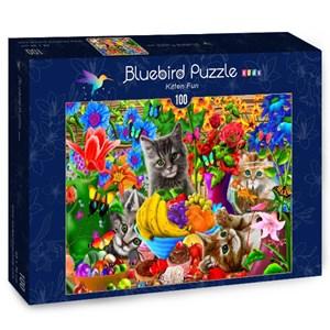 """Bluebird Puzzle (70393) - Gerald Newton: """"Kitten Fun"""" - 100 piezas"""