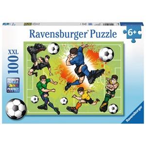 "Ravensburger (10693) - ""In Football Fever"" - 100 piezas"