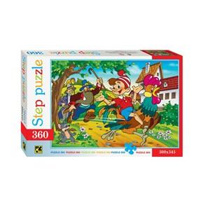 "Step Puzzle (73031) - ""Pinocchio"" - 360 piezas"