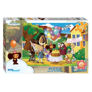 "Step Puzzle (73069) - ""Cheburashka"" - 360 piezas"