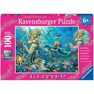 "Ravensburger (12872) - ""Disney Princess"" - 100 piezas"