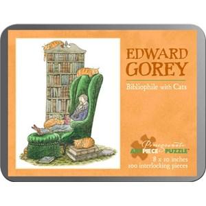 "Pomegranate (AA765) - Edward Gorey: ""Bibliophile with Cats"" - 100 piezas"