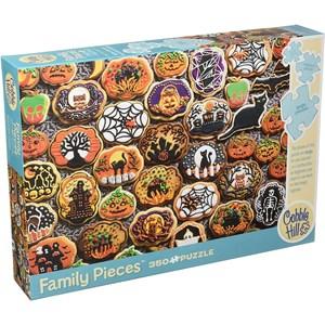 """Cobble Hill (54612) - """"Halloween Cookies"""" - 350 piezas"""