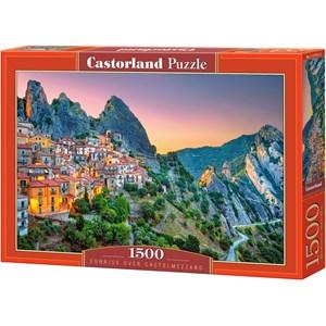 "Castorland (151912) - ""Sunrise over Castelmezzano"" - 1500 piezas"
