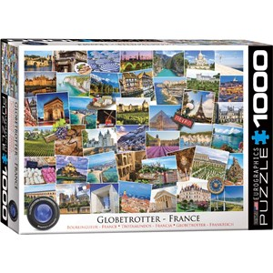 "Eurographics (6000-5466) - ""France"" - 1000 piezas"