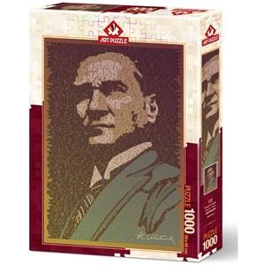 """Art Puzzle (5170) - """"Atatürk et Conference"""" - 1000 piezas"""