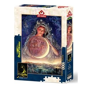 "Art Puzzle (5011) - Josephine Wall: ""Moon Goddess"" - 1000 piezas"
