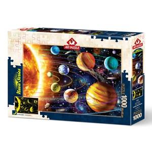"Art Puzzle (5012) - ""Solar System"" - 1000 piezas"