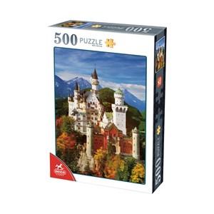 """Deico (76090) - """"Neuschwanstein"""" - 500 piezas"""