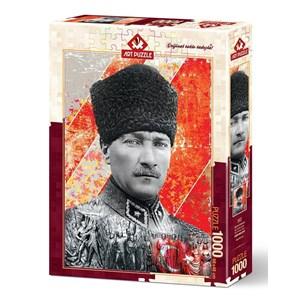 "Art Puzzle (4377) - ""Mustafa Kemal Atatürk"" - 1000 piezas"