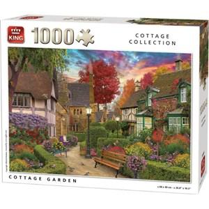 """King International (55955) - """"Cottage Garden"""" - 1000 piezas"""
