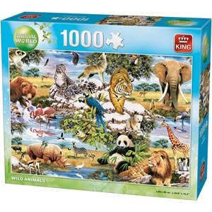 "King International (05481) - ""Wild Animals"" - 1000 piezas"