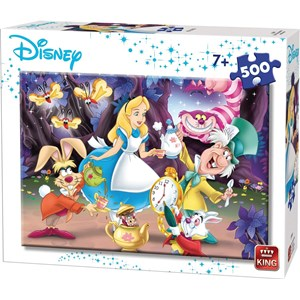 "King International (55914) - ""Disney, Alice in Wonderland"" - 500 piezas"