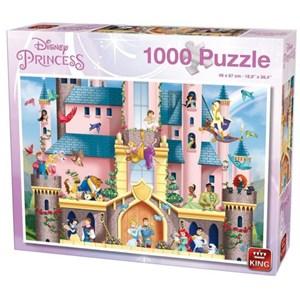 "King International (55917) - ""Disney Princess"" - 1000 piezas"