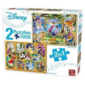 "King International (55920) - ""Disney"" - 1000 piezas"