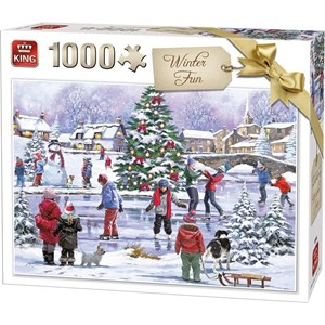 "King International (55935) - ""Winter Fun"" - 1000 piezas"