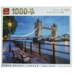 "King International (55939) - ""Tower Bridge, London, England"" - 1000 piezas"