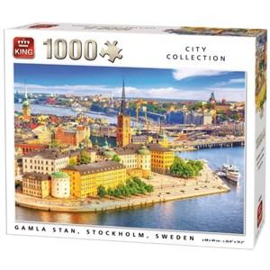 "King International (55952) - ""Gamla Stan, Stockholm, Sweden"" - 1000 piezas"