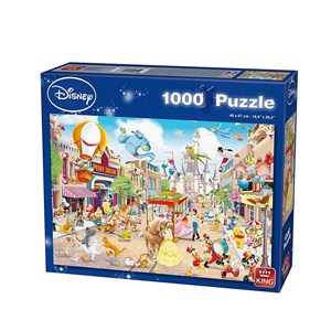 "King International (55886) - ""Disneyland"" - 1000 piezas"