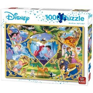 """King International (55829) - """"Disney, Movie Magic"""" - 1000 piezas"""