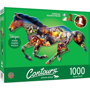 """MasterPieces (72052) - """"Wild Horse"""" - 1000 piezas"""