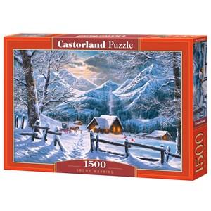 "Castorland (C-151905) - ""Snowy Morning"" - 1500 piezas"