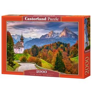 """Castorland (C-200795) - """"Rian Alps, Germany"""" - 2000 piezas"""