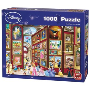 "King International (55903) - ""Disney Gallery"" - 1000 piezas"