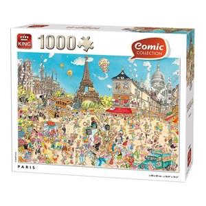 """King International (55843) - """"Paris"""" - 1000 piezas"""