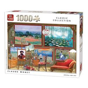 "King International (55864) - ""Claude Monet"" - 1000 piezas"