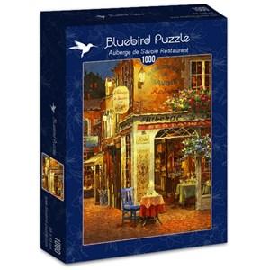 "Bluebird Puzzle (70214) - Viktor Shvaiko: ""Auberge de Savoie Restaurant"" - 1000 piezas"