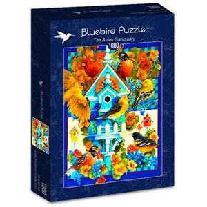 "Bluebird Puzzle (70420) - David Galchutt: ""The Avian Sanctuary"" - 1000 piezas"