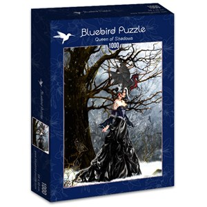 "Bluebird Puzzle (70424) - Nene Thomas: ""Queen of Shadows"" - 1000 piezas"
