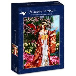 "Bluebird Puzzle (70425) - Nene Thomas: ""Sekkerastoya Queen of Silk"" - 1000 piezas"