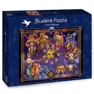 """Bluebird Puzzle (70123) - Ciro Marchetti: """"Zodiac Montage"""" - 1000 piezas"""