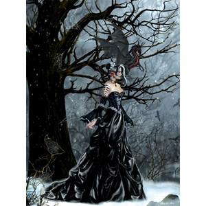"SunsOut (67634) - Nene Thomas: ""Queen of Shadows"" - 1000 piezas"
