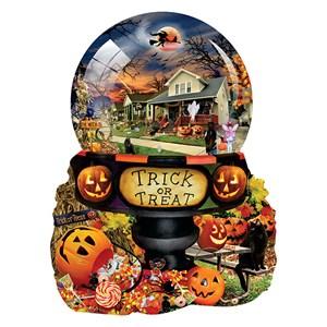 "SunsOut (96064) - Lori Schory: ""Halloween Globe"" - 1000 piezas"