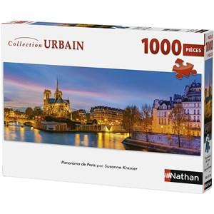 """Nathan (87577) - """"Paris, France"""" - 1000 piezas"""