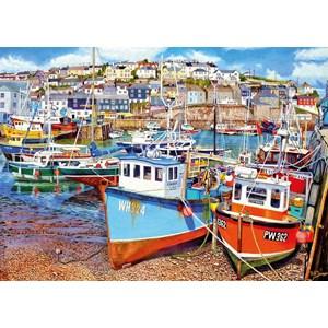 """Gibsons (G6220) - """"Mevagissey Harbour"""" - 1000 piezas"""
