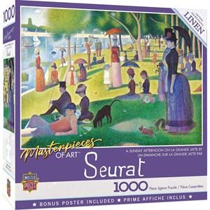 """MasterPieces (72013) - """"A Sunday on La Grande Jatte"""" - 1000 piezas"""