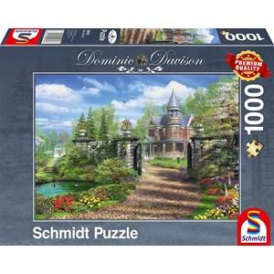 "Schmidt Spiele (59618) - Dominic Davison: ""Idyllic Landgut"" - 1000 piezas"