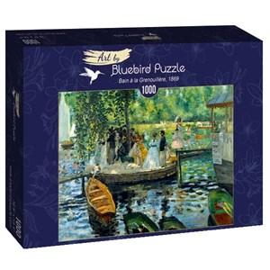 """Bluebird Puzzle (60100) - Pierre-Auguste Renoir: """"La Grenouillère, 1869"""" - 1000 piezas"""