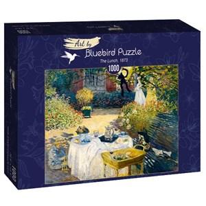 "Bluebird Puzzle (60040) - Claude Monet: ""The Lunch, 1873"" - 1000 piezas"
