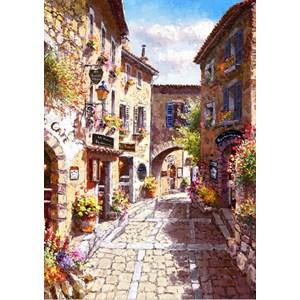 "Bluebird Puzzle (70056) - Sam Park: ""Eze Village"" - 1000 piezas"