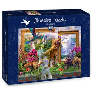 """Bluebird Puzzle (70139) - Jan Patrik Krasny: """"Dinoblend"""" - 1000 piezas"""